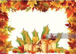 thanksgiving frame vector getty images