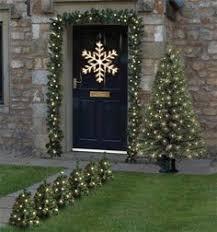 Pre Lit Mini Christmas Tree - solar mini christmas tree path lights set of 2 christmas