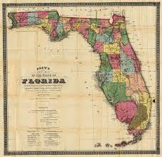 historic maps of florida florida map 1870 scanned version of an original map of