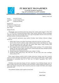 contoh surat balasan dari perusahaan