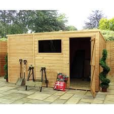 Shiplap Sheds 6 X 4 Pent Roof Wooden Sheds U2013 Next Day Delivery Pent Roof Wooden Sheds