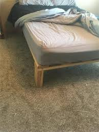 how to frame a floor bed frame and mattress gorge net classifieds