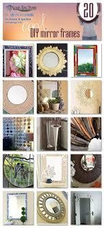frame ideas 20 diy mirror frames ideas the creek line house