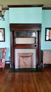 very large and dramatically carved oak th century chimneypiece