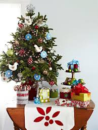 Ideas For Christmas Trees In Small Spaces by Modern Furniture Christmas Decorating 2012 Ideas For Small Spaces