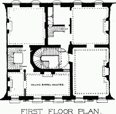 Square Floor L Plate 69 No 6 Bedford Square Ground And Floor Plans