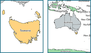 map of tasmania australia where is tasmania state where is tasmania located in the world