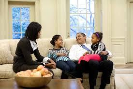 obama message to and malia on thanksgiving obama family photos