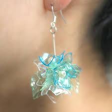 plastic bottle earrings earrings made from plastic bottles search primavera