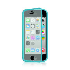 light blue iphone 5c case for apple iphone 5c tpu wrap up phone case cover with built in