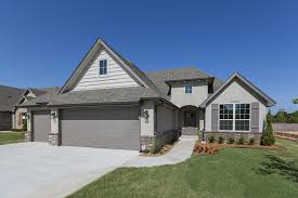 tulsa home builders the addison one story new home construction