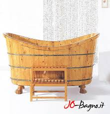 vasche da bagno legno le formidabili vasche in legno di jo sanitari bagno design e