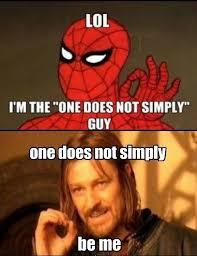 One Does Not Simply Meme - one does not simply mix memes image humor satire parody