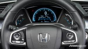 honda civic 2016 interior all new honda civic 2016 panel instrument autonetmagz