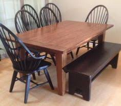 attic heirlooms dining table broyhill attic heirlooms ladderback bar stool height chairs with