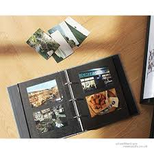 4x6 photo pages for 3 ring binder ring binder albums self adhesive photo album book scrapbooking