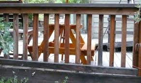 deck handrail pictures deck rail or fence made out of redwood with