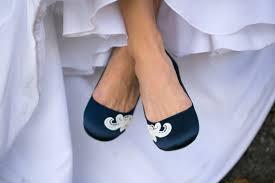 wedding shoes navy wedding flatsnavy blue bridal ballet flatswedding shoenavy
