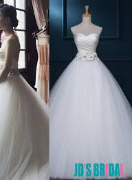 simple but wedding dresses h1687 simple neck tulle gown wedding dress