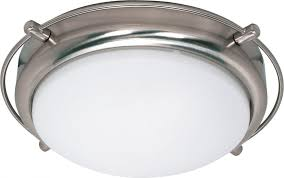 Flush Mount Kitchen Lighting Fixtures by Nuvo Lighting 60 608 Two Light Flush Mount Close To Ceiling