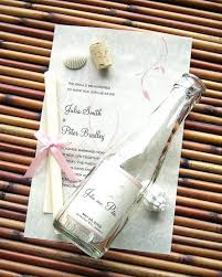 chagne wedding favors message in a bottle wedding favor message bottle wedding favors