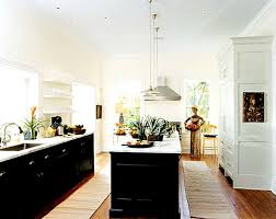 Black Cabinets White Countertops Go Halfsies In Your Kitchen With Bi Colored Cabinets