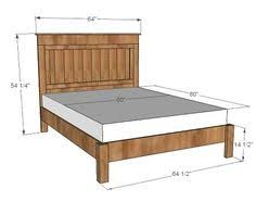 Headboard Woodworking Plans by Ana White Build A King Size Fancy Farmhouse Bed Free And Easy