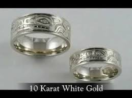 wolf wedding rings wolf design wedding bands with