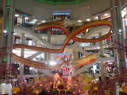 awesome chinese new year 2012 decoration at pavilion kl my blog