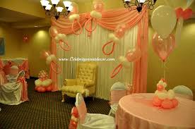 Balloon Decoration For Baby Shower Celebrity Event Decor Banquet Hall Jacksonville Fl Balloon