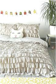 Elephant Duvet Cover Urban Outfitters Ruched Duvet Cover Twin Xl White Waterfall Ruffle Waterfall Duvet
