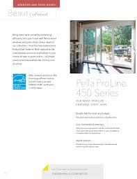Energy Star Patio Doors Pella Product Overview