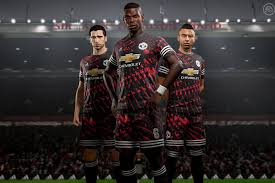 Manchester United Manchester United Got A New Kit And It S Only In Fifa 18