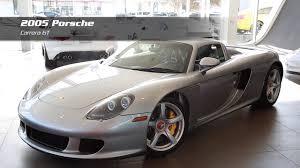 porsche carrera 2005 on the lot 2005 porsche carrera gt for sale at porsche auto