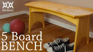 Woodworking Project Plans For Free by 15 Free Bench Plans For The Beginner And Beyond