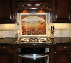 kitchen beautiful kitchen interior design glass tile mural glass