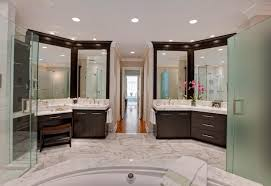 Luxury Powder Room Vanities 11 Striking U0026 Innovative Master Bathrooms By Drury Design