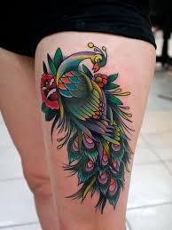 55 peacock tattoo designs art and design pertaining to unique