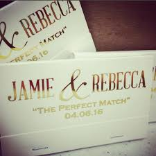 wedding matchbooks a match custom matchbooks custom wedding matches mr and