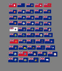 All 50 Flags All 50 Us States As British Possessions Vexillology