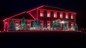 inspiring red and white christmas lights twuzzer