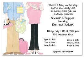 baby shower for couples happy proud invitation myexpression 11864