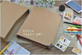 scrapbook binder 6 ring binder burlap hessian diy scrapbook sketchbook album book