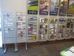 Business Card Racks Spaces