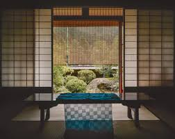 traditional japanese interior traditional japanese house interior woven indigo textile u2026 flickr