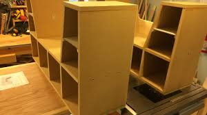 simple diy kids bookcase with reading nook youtube