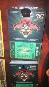 100 universal halloween horror nights tickets halloween