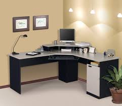 L Shaped Home Office Desk Magnificent Interior Home Office Desk Ideas With Grey L Shape