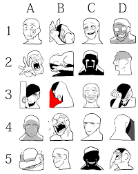 facial expression draw meme 2 by maiteritsuki on deviantart