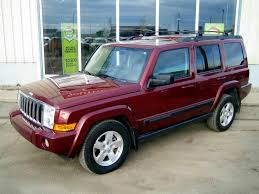 commander jeep 2007 used jeep commander sport 4x4 for sale in southey sk used